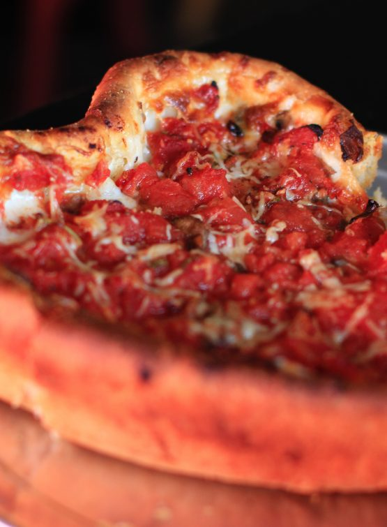 deep dish pizza example!