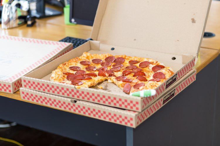 Determine much much pizza to order!