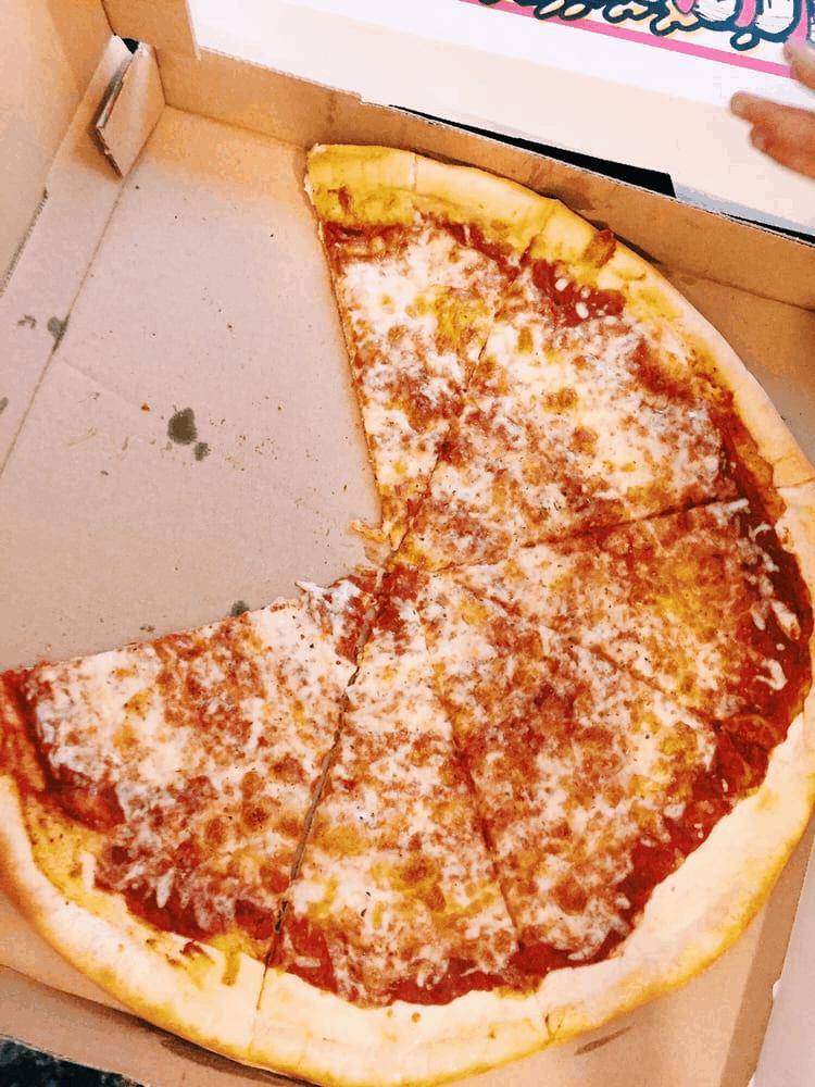 Spinelli's Pizzeria CBD pizza