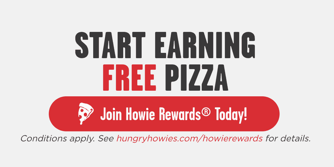 Hungry Howie's Free Pizza