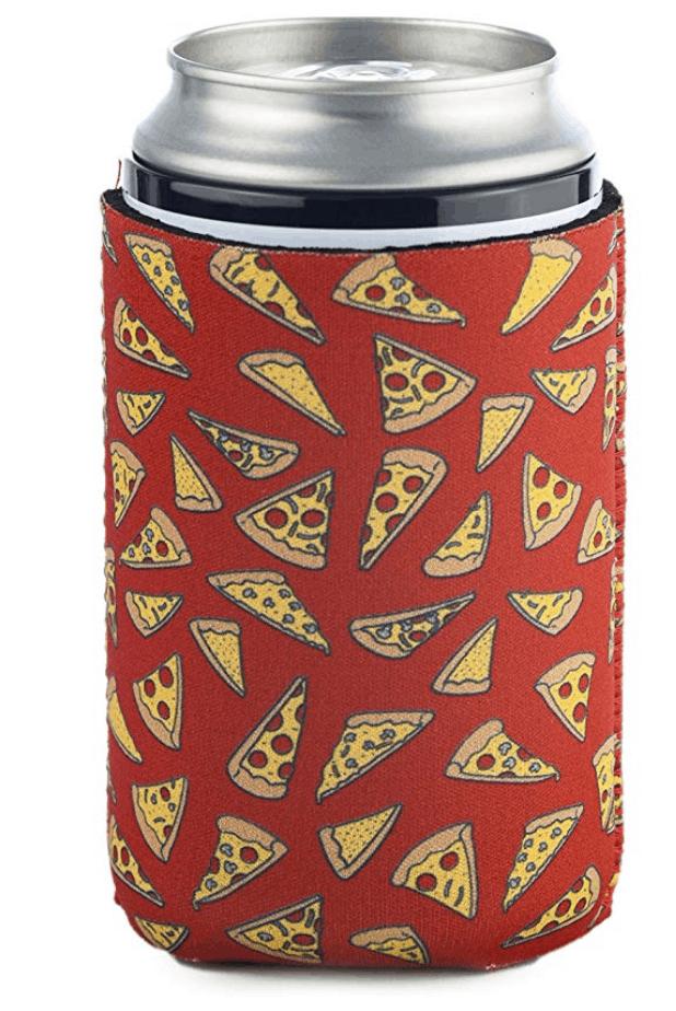 pizza koozie