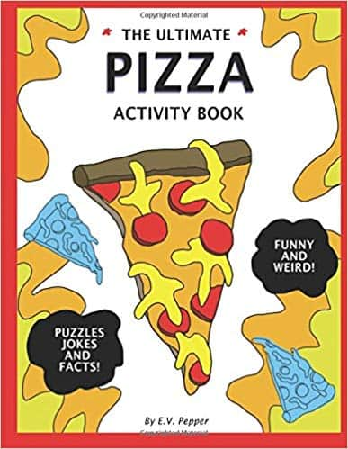 pizza coloring book