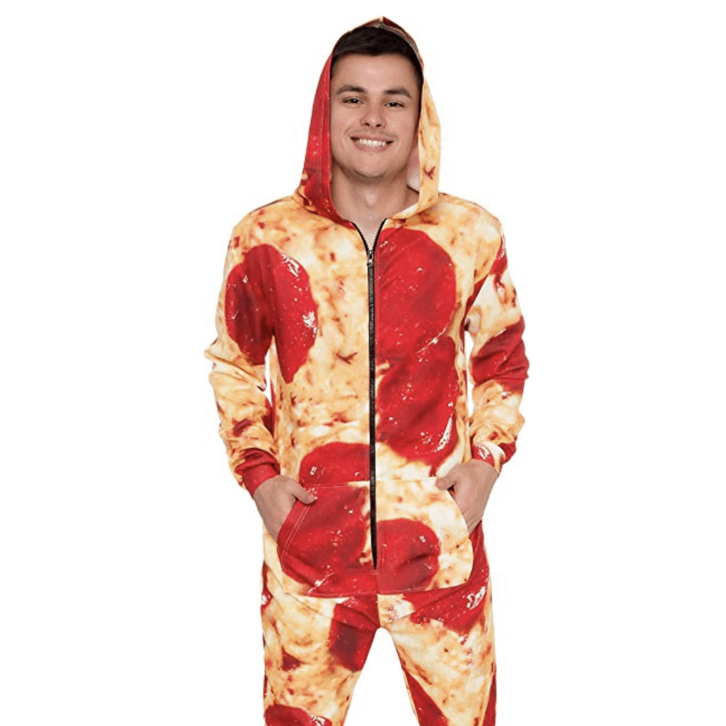 pizza pijamas