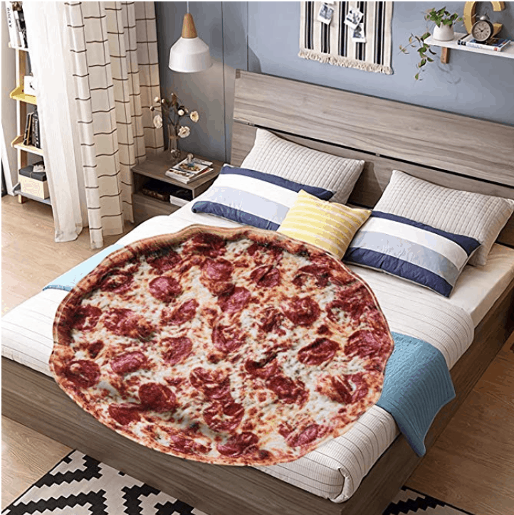 pizza blanket
