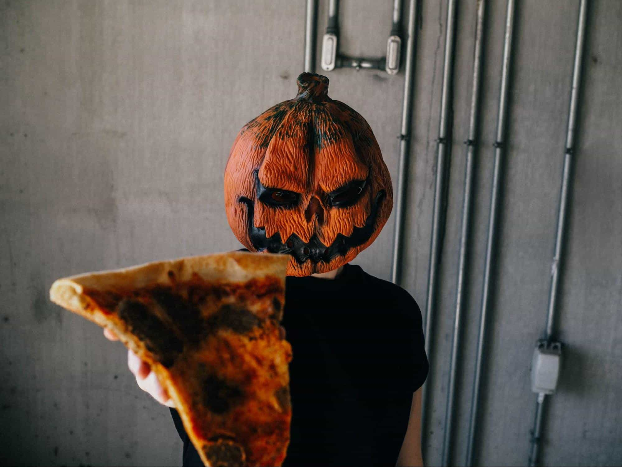 Watch a Scary Movie (with Pizza)
